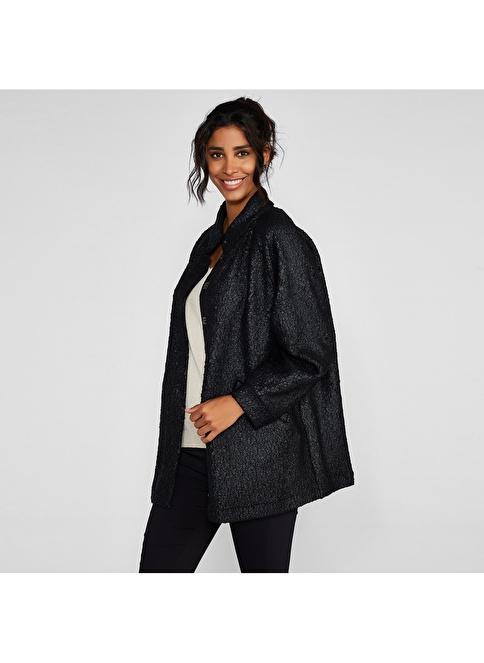 Vekem-Limited Edition Palto Siyah